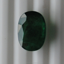 Natural Unheated Oval Cabochon Cut Emerald