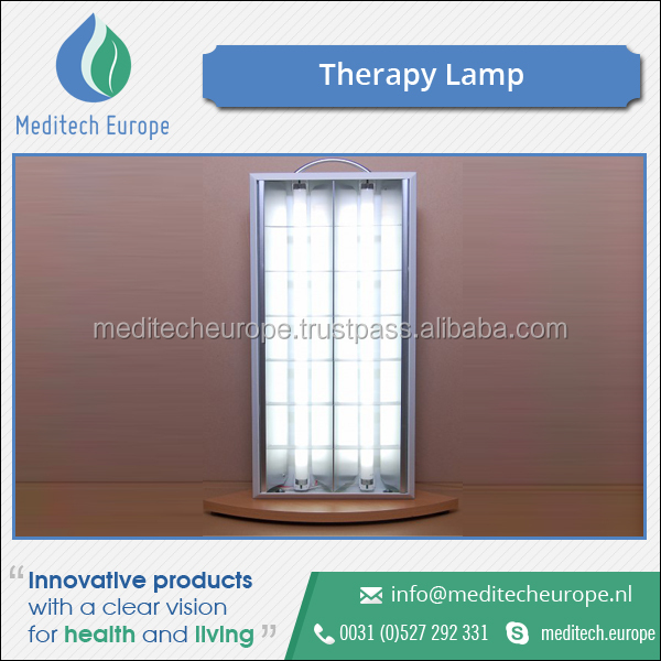 High Quality Aluminium Standing Base Therapy Lamp for Sale