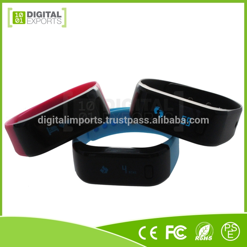 Customized smart fitness watch/ dfit smart band/ tracking ce rohs smart bracelet
