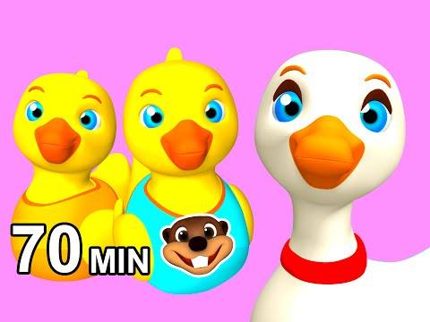 """Duck Duck Goose"" Kids Songs & Games 