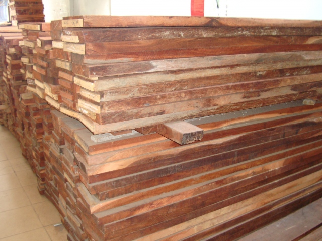 Pyinkado for wood flooring at the reasonable price