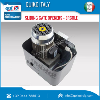 High Power Sliding Gate Opener Designed In Italy Available for Bulk Buyers