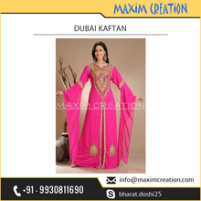 Arabian Kaftan/Wedding Gown Available in Stunning Pink Colour at Reliable Rate