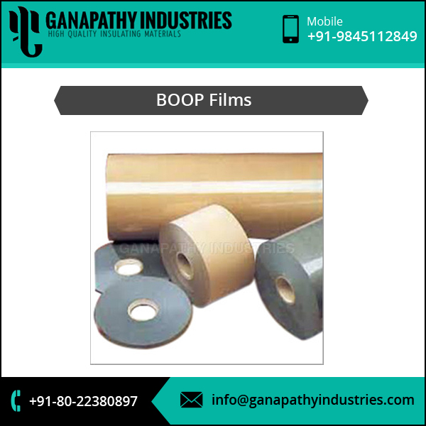 Highly Demanded Products Plain Bopp Film from Trusted Supplier
