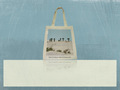 Recycled Organic Cotton Shoulder Tote Bag