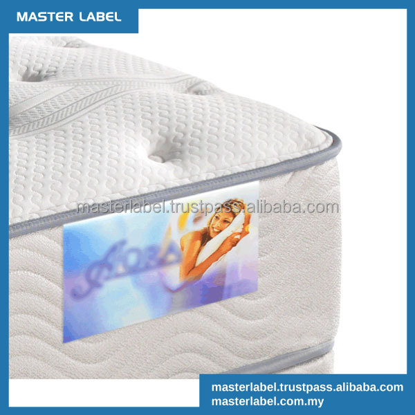 Mattress Label Hard Satin Label garment accessories