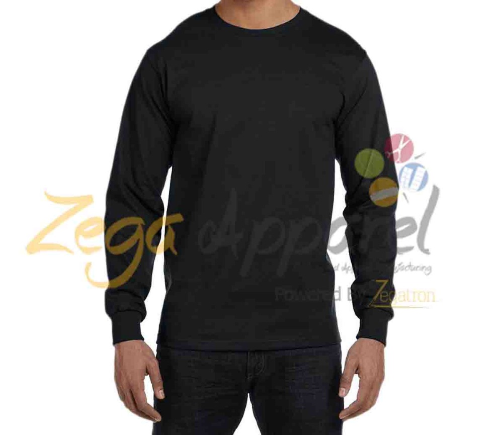 Zegaapparel wholesale silkscreen print logo brushed cotton t-shirt for man