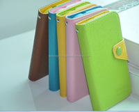 Colorful Genuine Real Leather Mobile Case