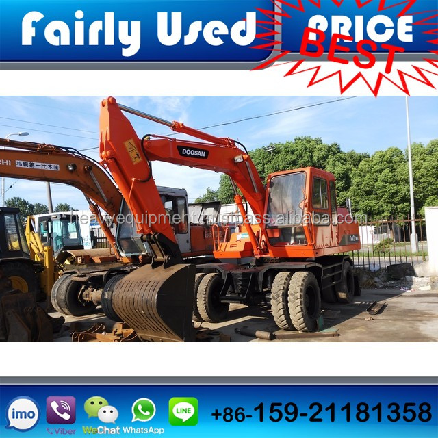 Fairly Used Daewoo Doosan 140WV Wheel Excavator