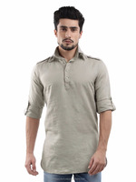 mens kurta - Latest Khadi Kurta Designs Mens Short Cotton Plain Kurtas