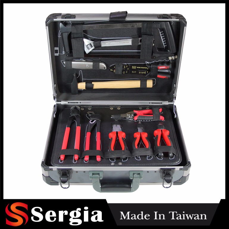 Force Tools Kit Taiwan Products 131 Pcs 1/4 1/2 Hacksaw Plier Socket Wrench Set