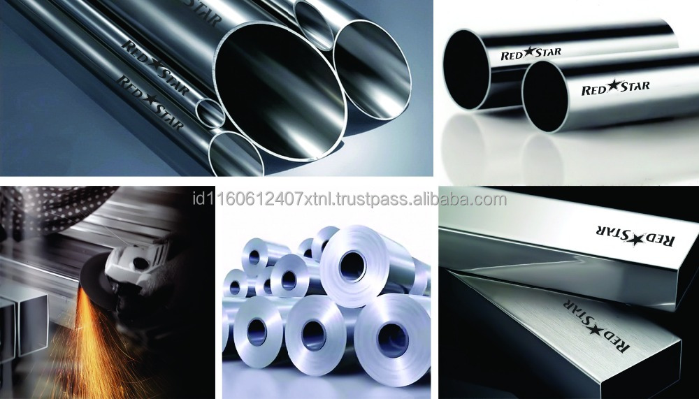 Indonesian Stainless Steel Pipe SUS 304 ASTM A554