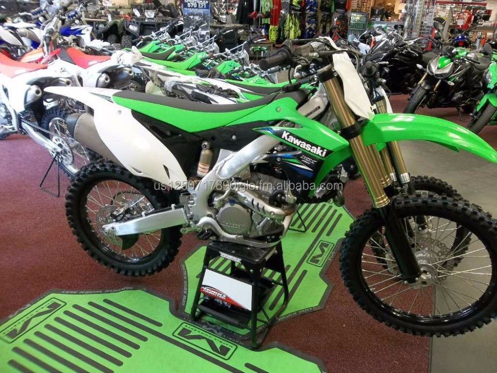 BUY GENUINE 2016 / 2017 KX250F KX250 F Motocross Off-Road Lime Green