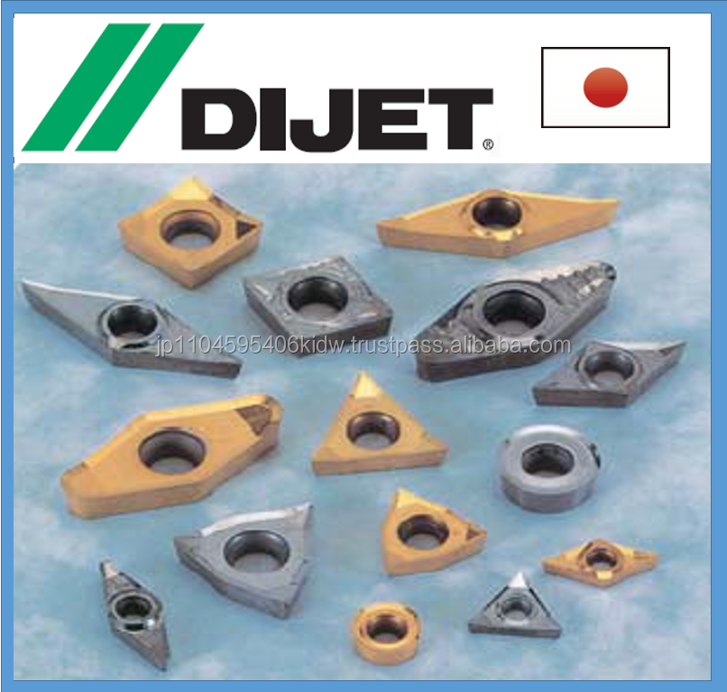 High precision and Easy to use square Dijet insert at high speed turning