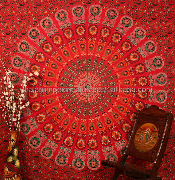 Buy Large Indian Mandala Tapestry Decorative Dorm Tapestry