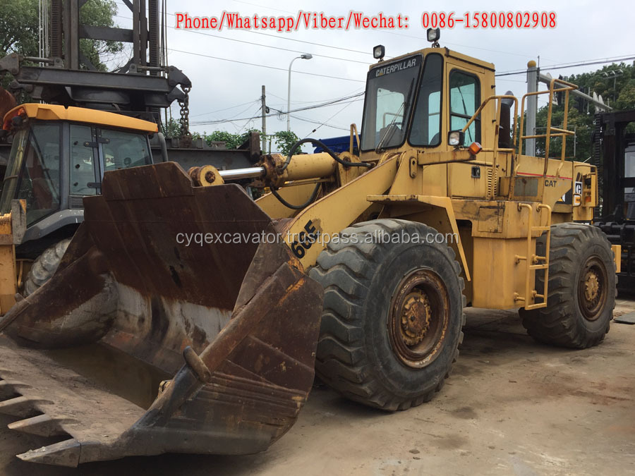 Original Caterpillar 966E wheel loader, Used Construction Machinery for sale(whatsapp: 00086-15800802908)