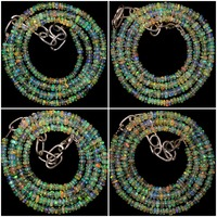 20 Strand 3 mm to 6 mm 14 to 16 Inches Natural Ethiopian Opal Gemstone Beads