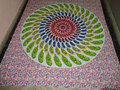 new mandala leaf printed tapestry