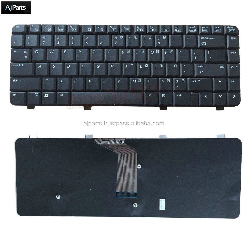Replacement for HP Compaq Presario C700 series laptop keyboard US UK SP RU layout V062346AS1
