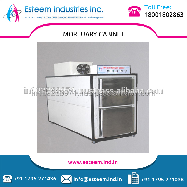 Leading Manufacturer Selling Mortuary Body Refrigerator/Cabinet/ Freezer with Special Loading Trolley