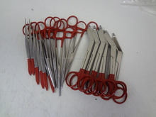 15 Pcs Colormed Instruments Surgical EMT Nurse Red