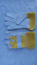 Canadian Leather Rigger Work Gloves Heavy Duty Safety Gauntlets Size XL