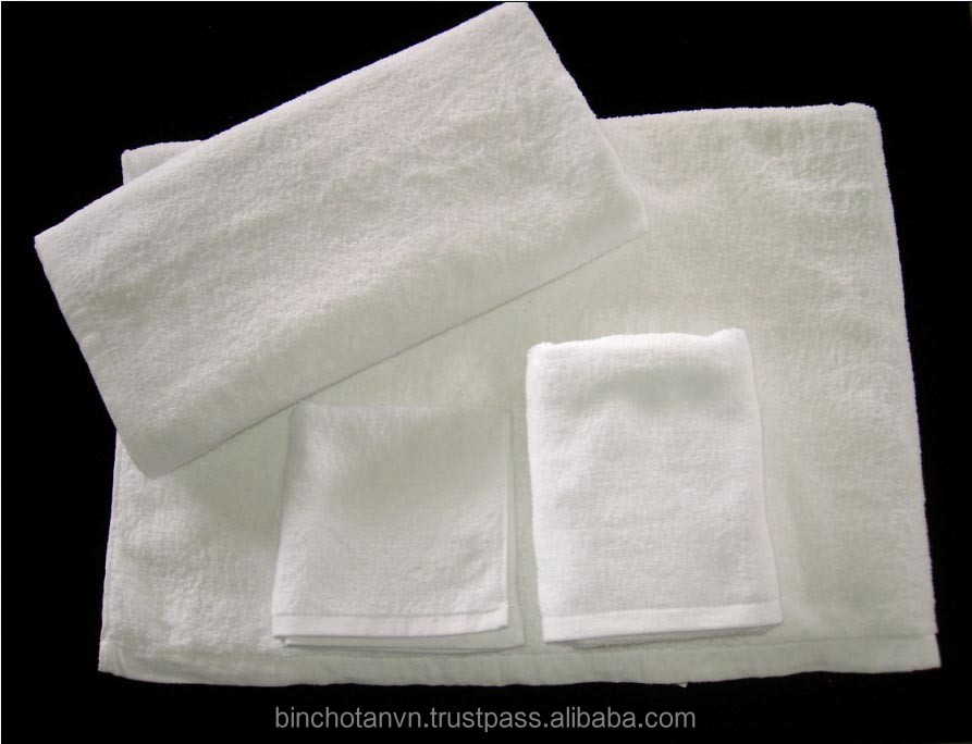 100% cotton soft textile face towel low price