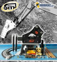 HTN 70 Hydraulic Breaker / Rock Breaker for Excavator