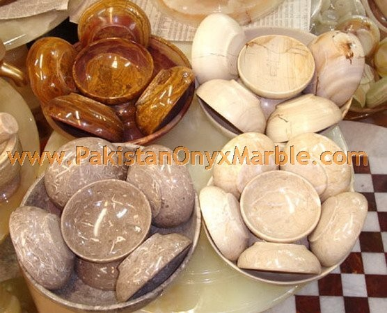 EXPORT QUALITY MARBLE BOWLS HANDICRAFTS