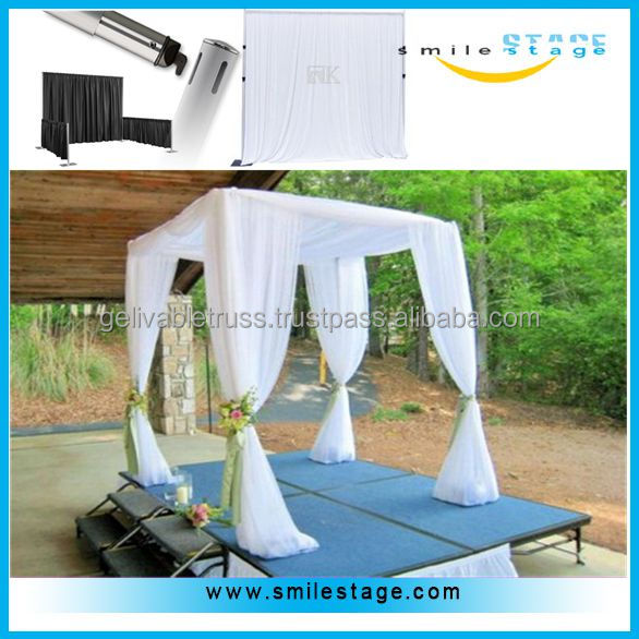 wedding square pipe canopy pipes and drapes manufacturers