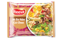 CAI CHUA AND STEW BEEF FLAVOR INSTANT NOODLE
