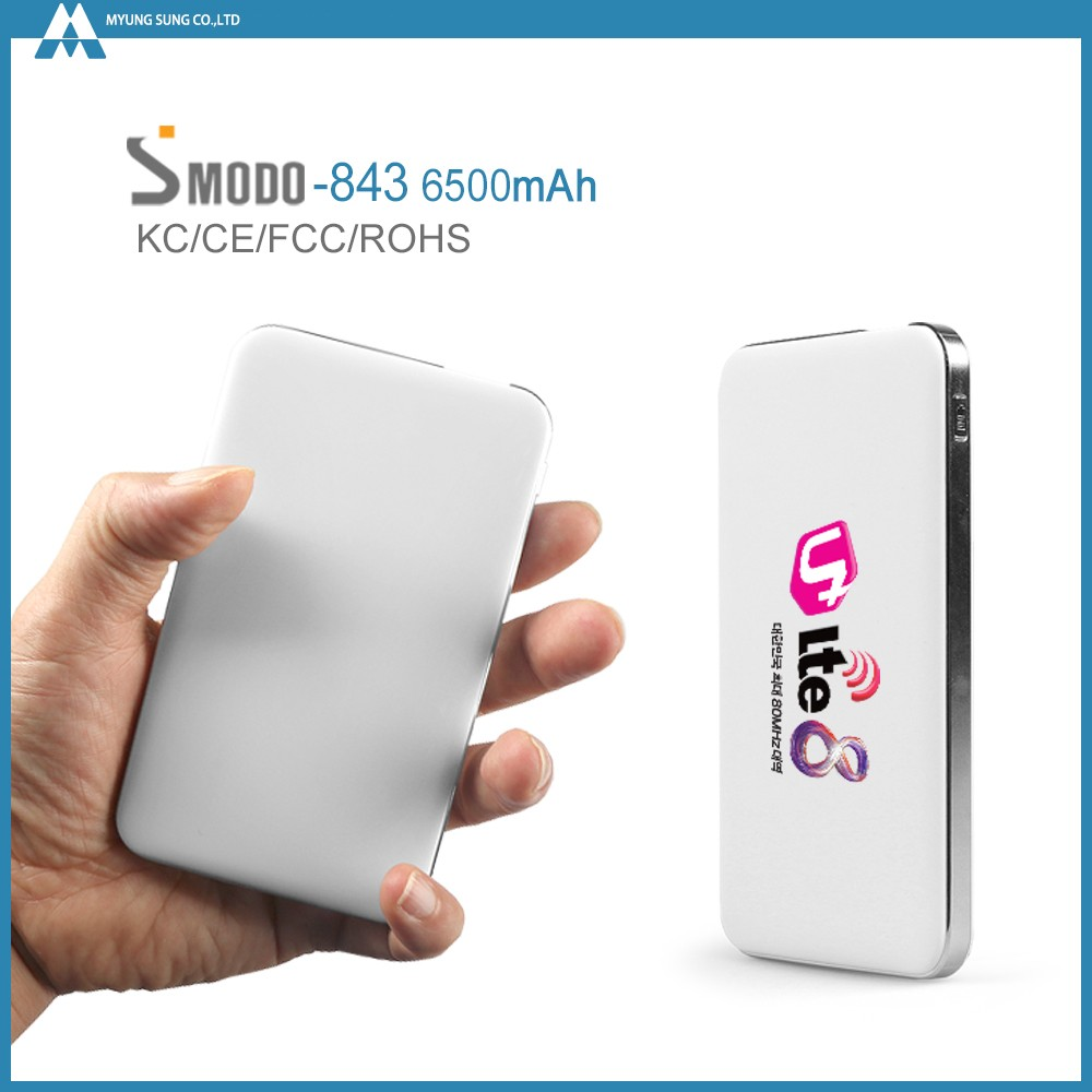 Gadget wholsale super fast charger 6500mah backup battery for T mobile