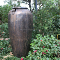 Ekova flower garden shop with ceramic handle urns_Vietnam pottery
