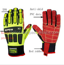 Oil and gas industrial gloves SDX heavy duty impact Oil field gloves SDXProtection Anti cut oil gloves