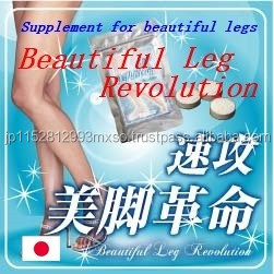 Best-selling and High quality dietary supplement for beautiful legs with High-capacity made in Japan