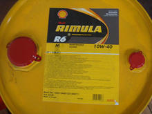Synthetic Heavy duty engine oil Rimula R6M 10w-40 55 liters little drum
