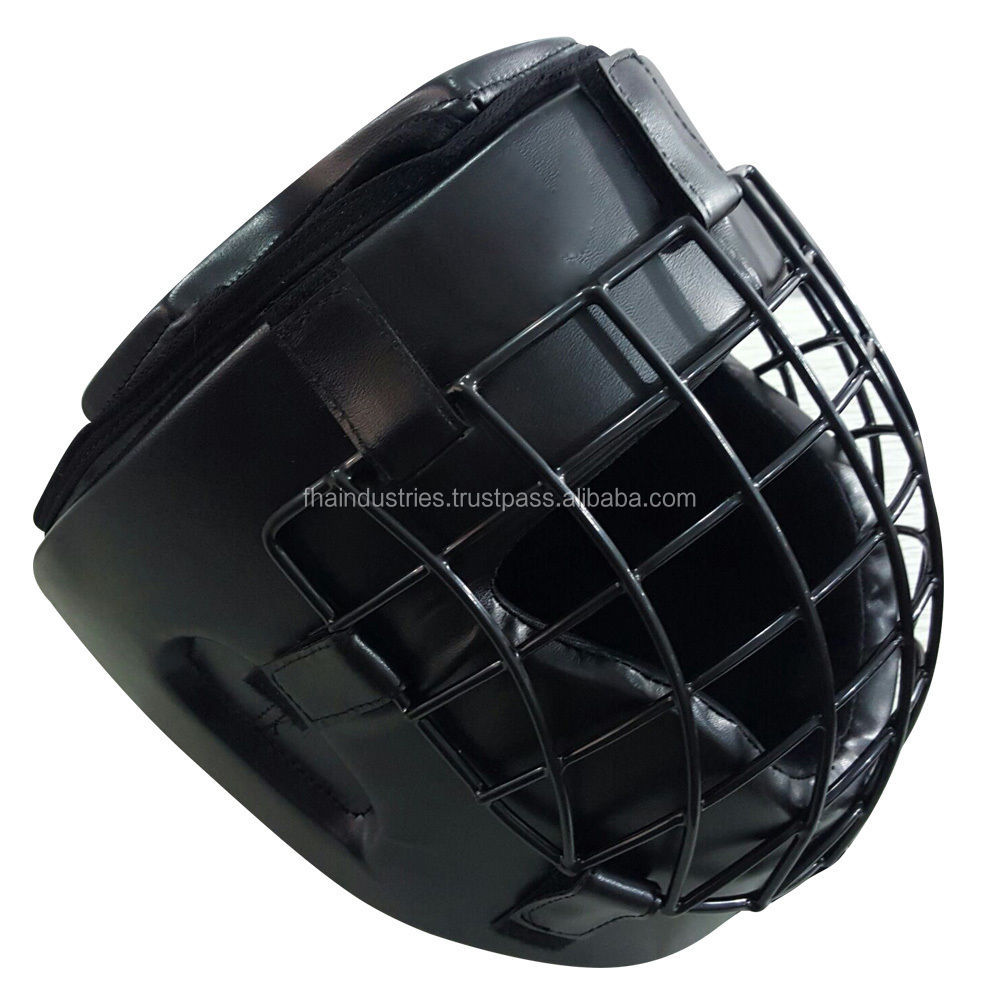 Cage Head Guard Helmet Boxing head Gear MMA Aikido Karate Taekwondo