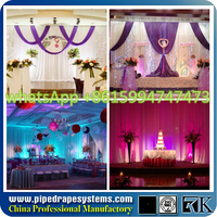 backdrop pipe and drape for wedding show events decorative pillars and columns