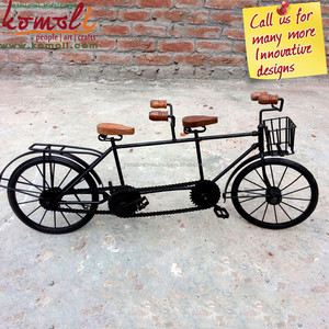Replica Bicycle of Many Designs & Wrought Iron Bicycle with Basket- Various Design of Miniature Bicycle Size, Color Options