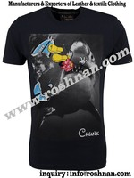 Hot Led flashing light t-shirt/promotional shirt