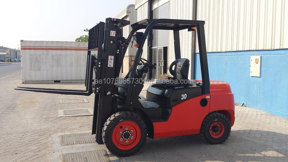 RODDOT Forklift 3 Ton with Japan engine YANMAR 60 h.p. 3 Stage Mast, MFH 4.5 meters,