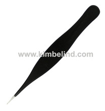 best ingrown hair pointed tweezers/ hot selling pointed tweezers for eyebrows and ingrown hair