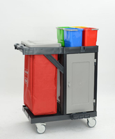 Cleaning Trolley Commercial Design Housekeeping,Hotel Cleaning Trolley Hospital Code: M 112 B2 D