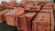 Copper cathode with Lc at sight as payment term