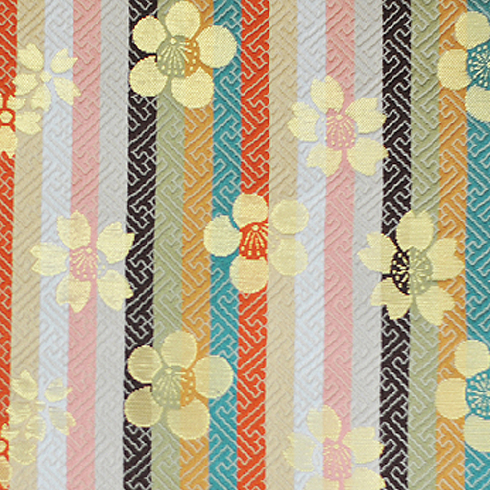 Japanese and Classic discount fabric of Japanese Kimono cloth with many colors and design made in Japan