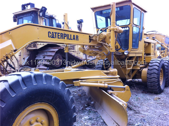 second hand caterpillar motor grader, used cat 14g /12g /140g /120h /120h /140h motor graders price