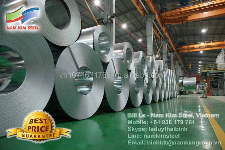 Galvanized Steel Coil / Hot-dip Zinc Coated Steel (GI)