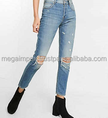 Distressed Denim Pant - distressed denim jeans pants - distressed mens jeans, jeans trouser, jeans pants/new style 2017