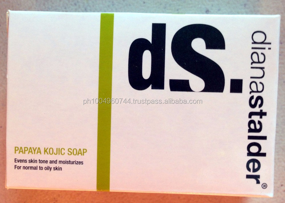 14 pcs Diana Stalder Papaya Kojic Acid Premium Whitening Soap