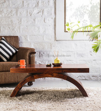 Coffee Table in Provincial Teak Finish /2016 New Design Beautiful colour and stylist shape the large coffee table for home use.